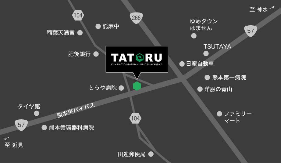 TATORU Map